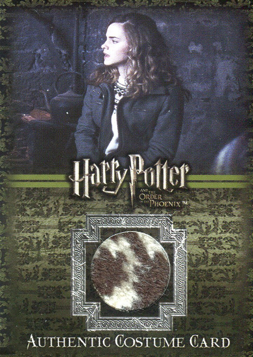 Harry Potter Order Phoenix Update Hermione Costume Card C2 HP #232/400   - TvMovieCards.com