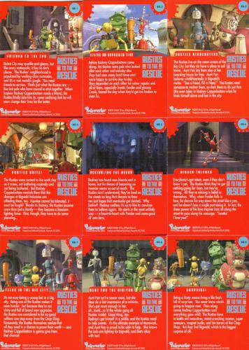 Robots Movie Rusties to the Rescue Chase Card Set 9 Cards   - TvMovieCards.com