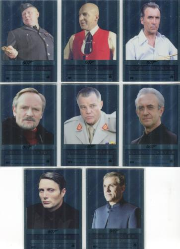 James Bond Archives Final 2017 Double Sided Mirror Chase Card Set 8 Cards   - TvMovieCards.com