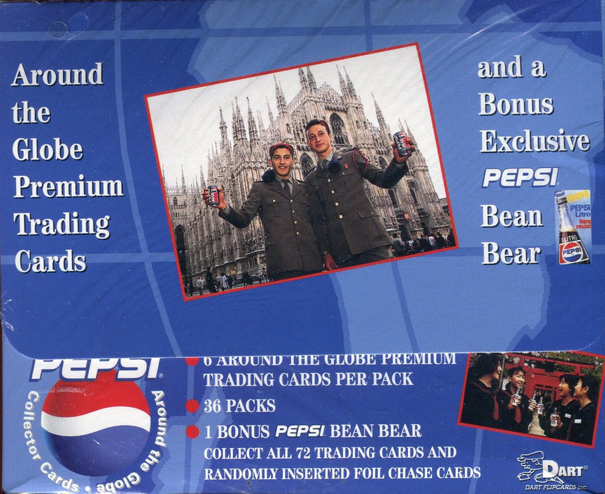 Pepsi Cola Around the Globe Card Box   - TvMovieCards.com