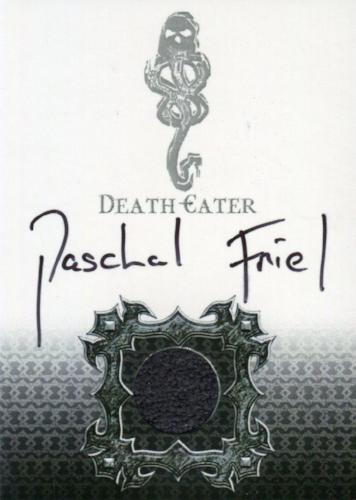 Harry Potter Memorable Moments Paschal Friel Autograph Costume Card HP DE4   - TvMovieCards.com