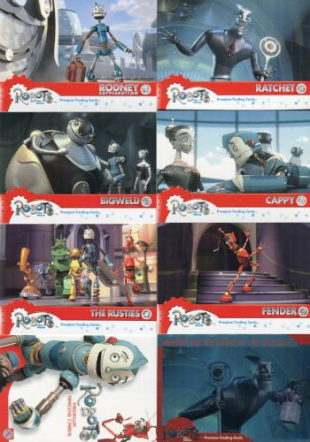 Robots Movie Promo Card Lot 8 Cards   - TvMovieCards.com