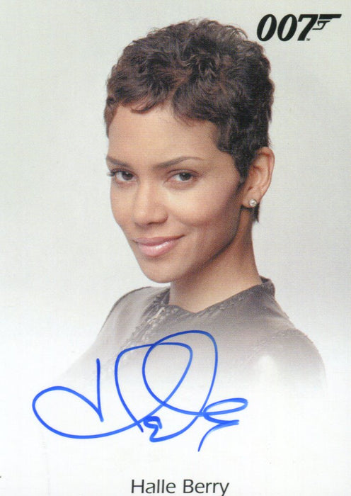 James Bond Archives Final Edition 2017 Halle Berry as Jinx Autograph Card   - TvMovieCards.com