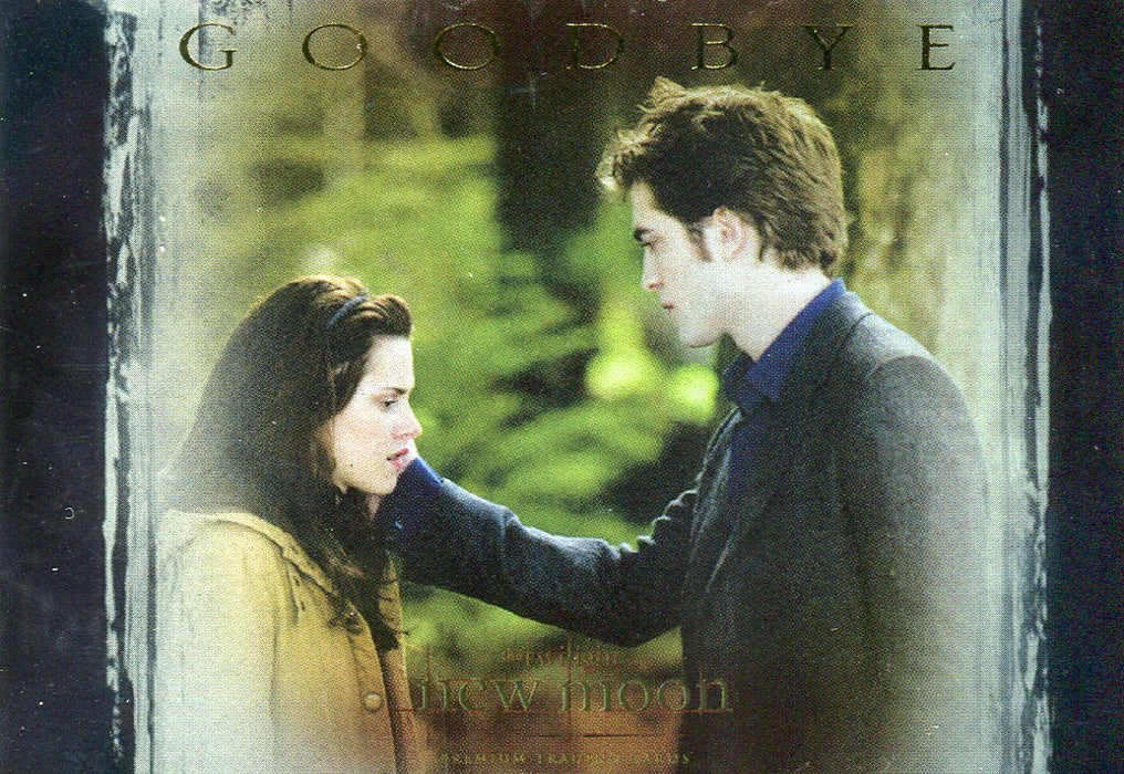 The Twilight Saga: New Moon Target Exclusive Goodbye, Bella Foil Chase Card T-1   - TvMovieCards.com