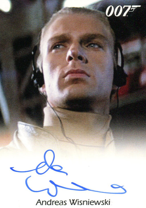 James Bond 50th Anniversary Series One Andreas Wisniewski Autograph Card   - TvMovieCards.com