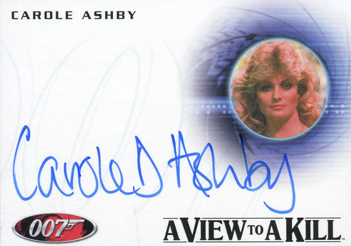 James Bond Heroes & Villains Carole Ashby Whistling Girl Autograph Card A152   - TvMovieCards.com