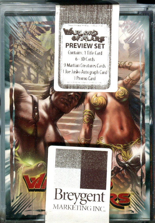 Warlord of Mars Preview Card Set 18 Cards Breygent 2012   - TvMovieCards.com