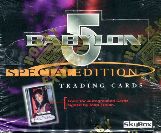 "6 Card /""One Exit At A Time/"" Chase Set E1-E6 Babylon 5 Season 5 Five"