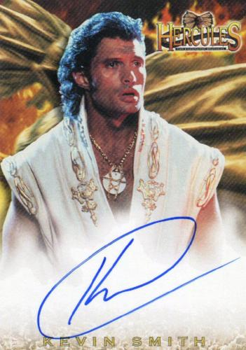 Hercules The Complete Journeys Kevin Smith as Ares Autograph Card A5   - TvMovieCards.com