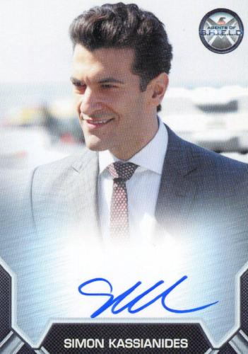 Agents of S.H.I.E.L.D. Season 2 Simon Kassianides Autograph Card   - TvMovieCards.com