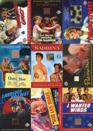 Classic Vintage Movie Posters 2 Prop & Costume Card Set Breygent   - TvMovieCards.com