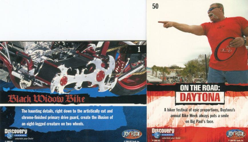 American Chopper Orange County Choppers Base Card Set   - TvMovieCards.com