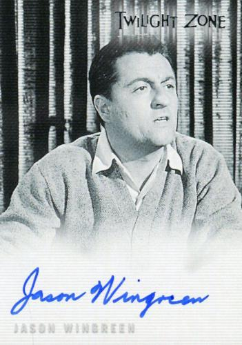 Twilight Zone 4 Science and Superstition Jason Wingreen Autograph Card A-76   - TvMovieCards.com