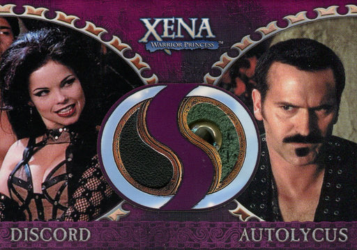 Xena Dangerous Liaisons Discord and Autolycus Double Costume Card DC6   - TvMovieCards.com