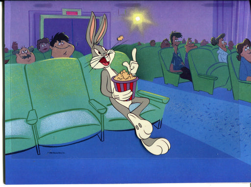 Vintage Warner Brothers Bugs Bunny Animation Cell - He's 50 Folks! Magazine   - TvMovieCards.com