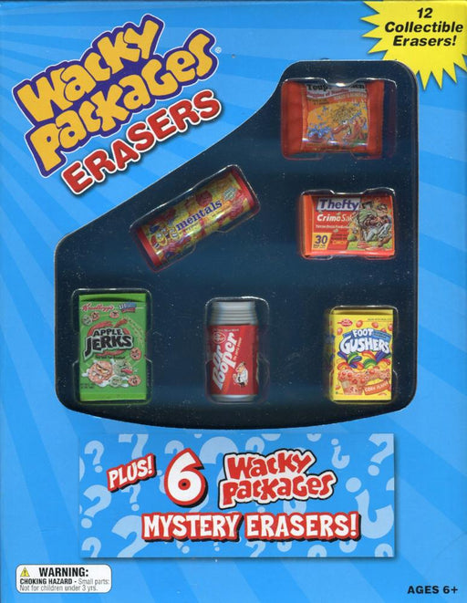 Wacky Packages Erasers   - TvMovieCards.com