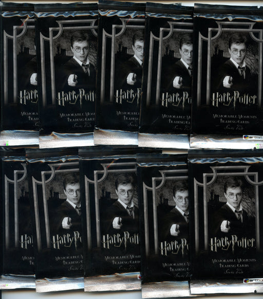 Harry Potter Memorable Moments Series 2 Card Pack Lot 10 Sealed Hobby Packs   - TvMovieCards.com