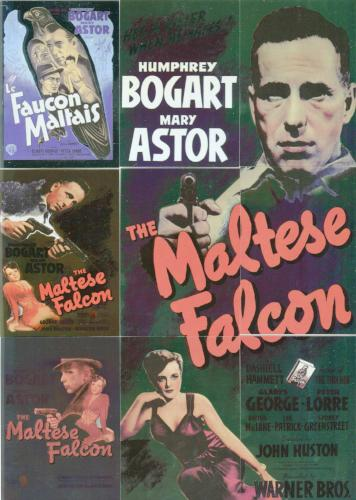 Classic Vintage Movie Posters 1 Maltese Falcon Chase Card Set Breygent   - TvMovieCards.com