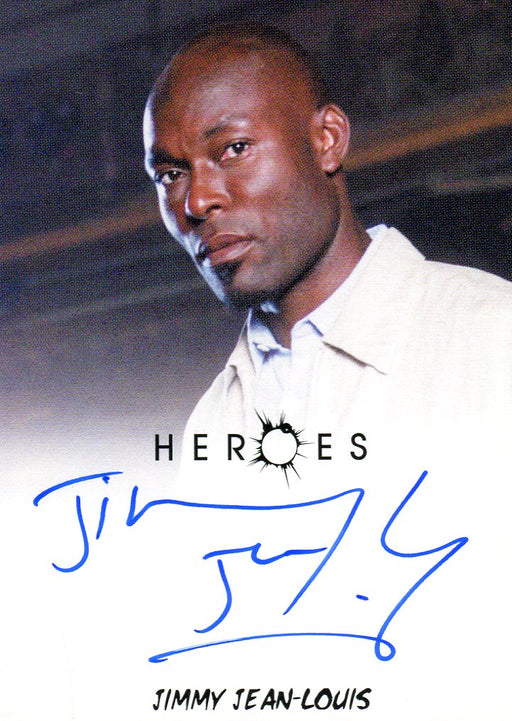 Heroes Archives Jimmy Jean-Louis as Rene Autograph Card Rittenhouse   - TvMovieCards.com