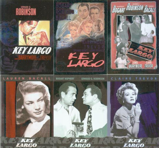 Classic Vintage Movie Posters 1 Key Largo Chase Card Set Breygent   - TvMovieCards.com