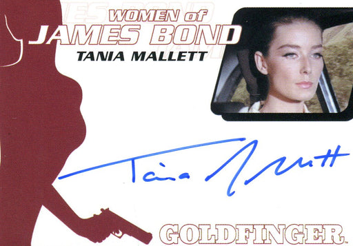 James Bond Archives 2014 Edition Tania Mallett Autograph Card WA45   - TvMovieCards.com