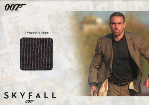 James Bond Autographs & Relics Patrice Relic Costume Card SSC6 #085/200   - TvMovieCards.com