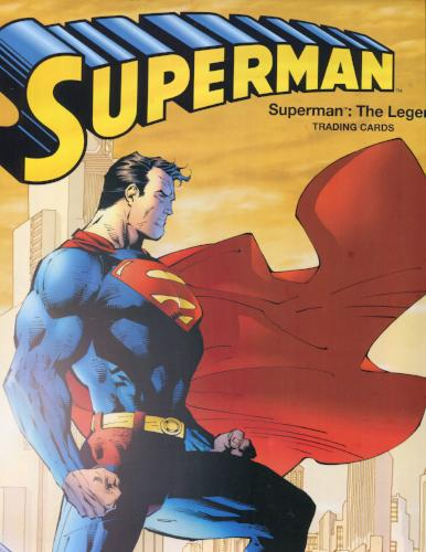 Superman The Legend  Sealed Collector Album with  BP1 Album Card   - TvMovieCards.com