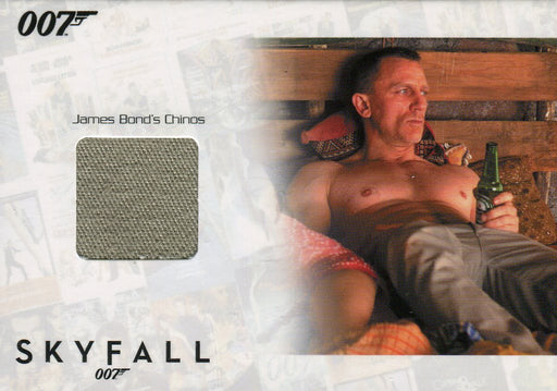 James Bond Autographs & Relics Daniel Craig Relic Costume Card SSC11 #014/200   - TvMovieCards.com
