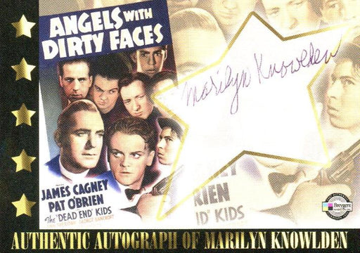 Classic Vintage Movie Posters 1 Marilyn Knowlden Autograph Card Breygent   - TvMovieCards.com