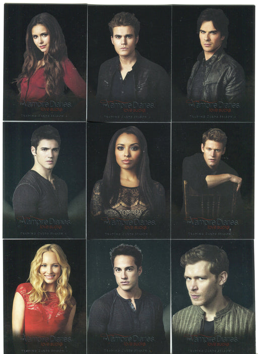 2016 Vampire Diaries Season 4 Silver Foil Parallel Studio Chase Card Set S1-S9   - TvMovieCards.com