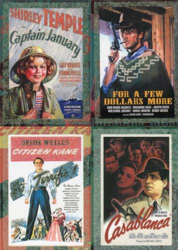 Classic Vintage Movie Posters 1 Promo Card Lot 9 Cards Breygent   - TvMovieCards.com