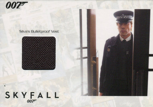 James Bond Autographs & Relics Silva Relic Costume Card SSC28 #087/200   - TvMovieCards.com