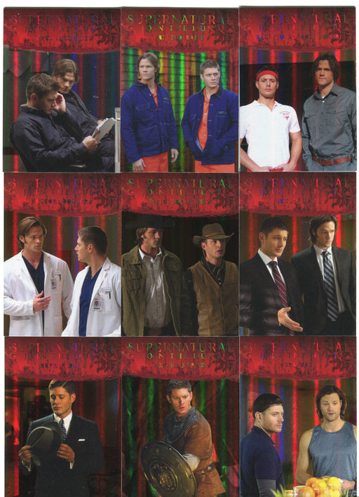 2016 Supernatural Season 4-6 Rainbow Foil Parallel Disguises Chase Card Set D1-9   - TvMovieCards.com