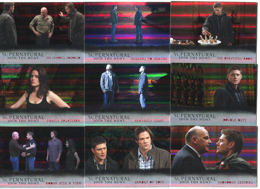2016 Supernatural Season 4-6 Foil Parallel Notable Locations Card Set L10-18   - TvMovieCards.com