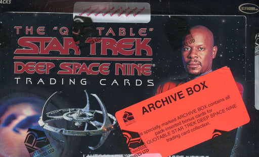 Star Trek The Quotable Deep Space Nine DS9 Archive Card Box   - TvMovieCards.com