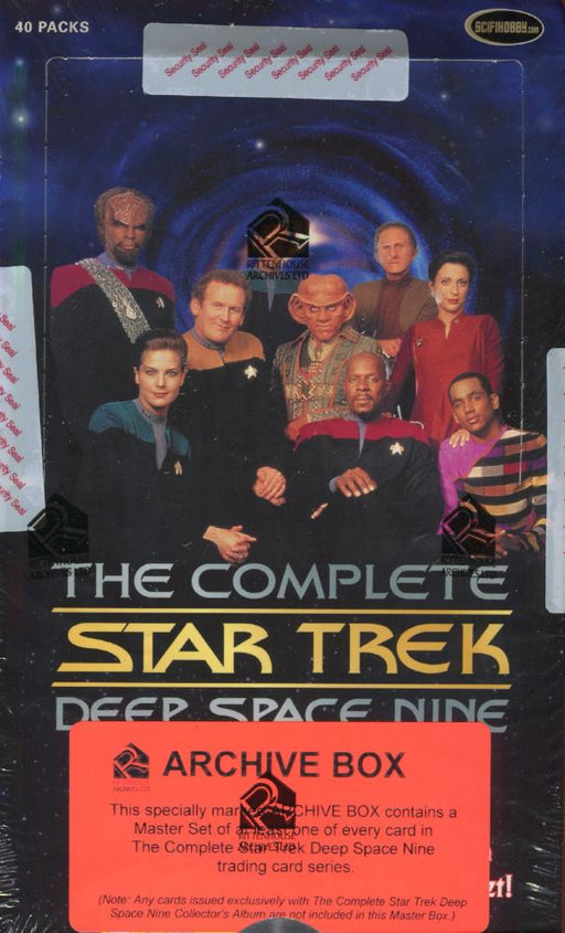 Star Trek The Complete Deep Space Nine DS9 Archive Card Box   - TvMovieCards.com