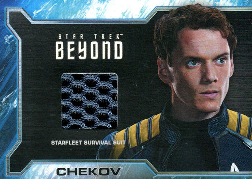 Star Trek Beyond Movie Chekov Rewards Costume Card SR8a   - TvMovieCards.com