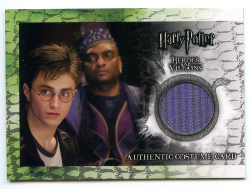 Harry Potter Heroes & Villains Kingsley Shacklebolt Costume Card C3 HP #428/460   - TvMovieCards.com