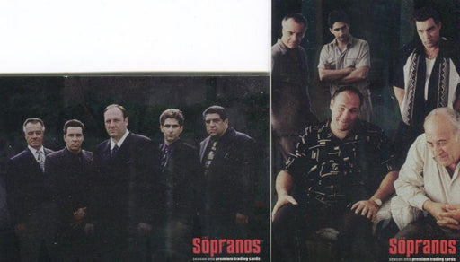 Sopranos Season One Foil Promo Card Lot 2 Cards   - TvMovieCards.com