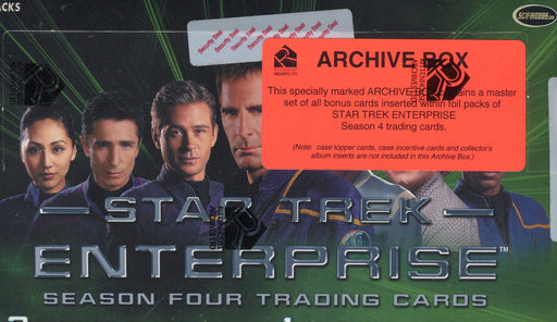 Star Trek Enterprise Season 4 Archive Card Box   - TvMovieCards.com