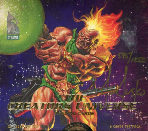 Creators Universe Artist Joe Jusko Signed Card Box   - TvMovieCards.com