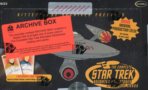 Star Trek The Complete Animated Adventures Archive Card Box   - TvMovieCards.com