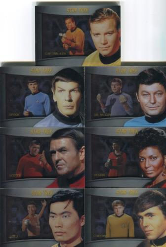 Star Trek TOS The Original Series Heroes and Villains Shadowbox Chase Card Set   - TvMovieCards.com