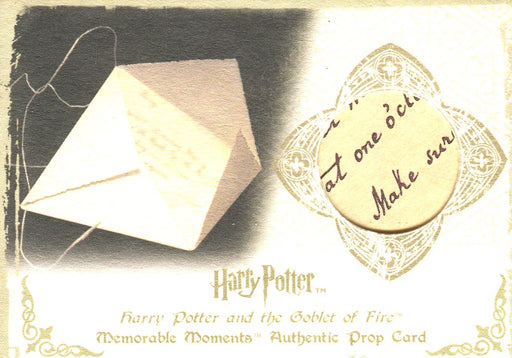 Harry Potter Memorable Moments Dealer Incentive Prop Card HP Ci3 #038/050   - TvMovieCards.com