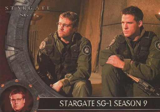 Stargate SG-1 Season Nine Promo Card P2   - TvMovieCards.com