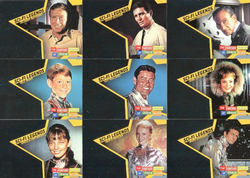 Fantasy Worlds of Irwin Allen Sci-Fi Legends Chase Card Set 21 Cards   - TvMovieCards.com