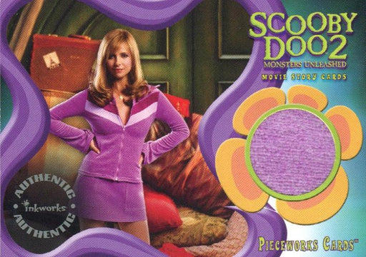 Scooby Doo2 Monsters Unleashed Daphne Pieceworks Costume Card PW-9   - TvMovieCards.com