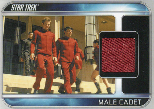 Star Trek The Movie 2009 Male Cadet Costume Card CC10   - TvMovieCards.com