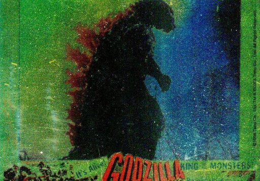 GODZILLA: KING OF THE MONSTERS Puzzle Chase Card Walking in Flames   - TvMovieCards.com