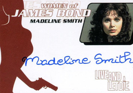 James Bond The Quotable James Bond Madeline Smith Autograph Card WA25   - TvMovieCards.com